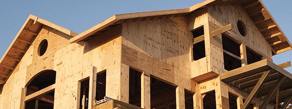Home frame is built